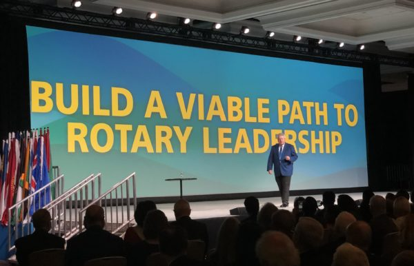 Rotary International President-elect Maloney theme 2019